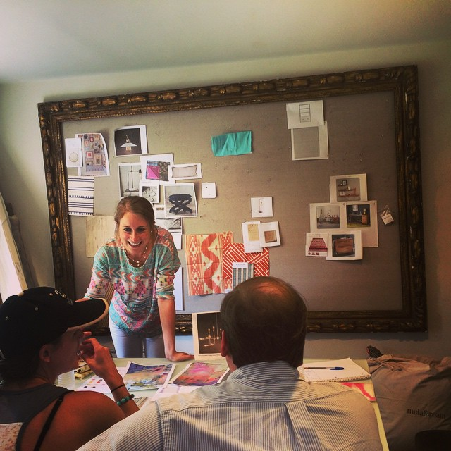 @jenzbarron crushing it leading her first client meeting!! #MLinteriors #designhouston…