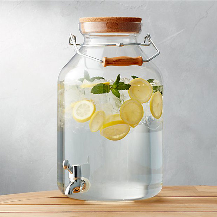 Crate and Barrel – Acrylic Drink Dispenser
