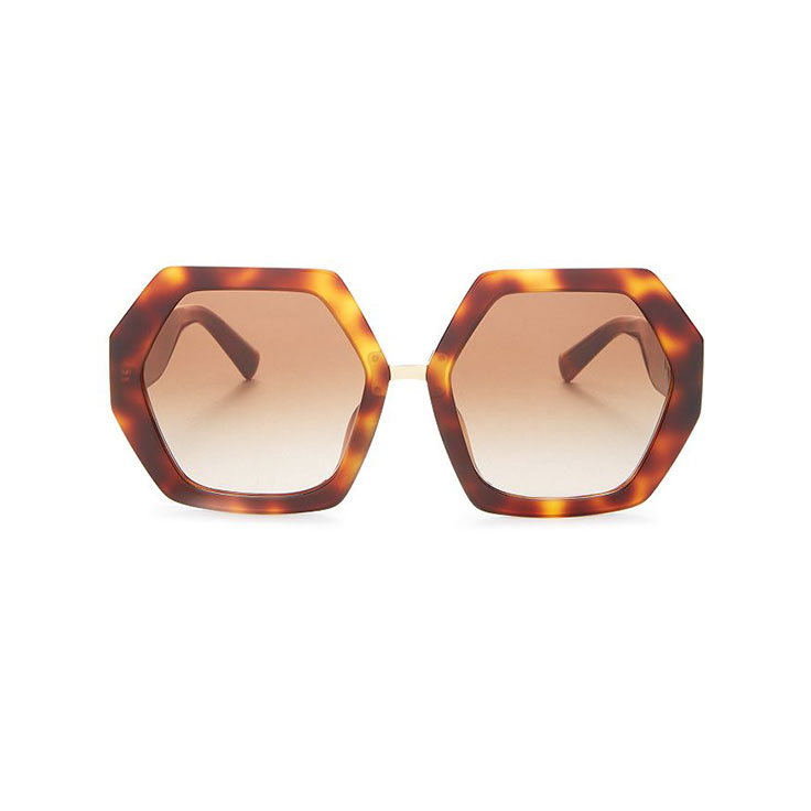 VALENTINO – Women's Geometric Sunglasses